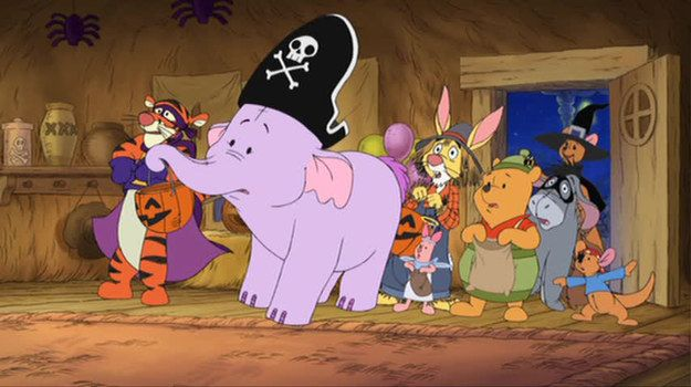 Pooh's Heffalump Halloween Movie (2005)   Community Post: 22 Animated Films And TV Episodes You Need To Rewatch This October