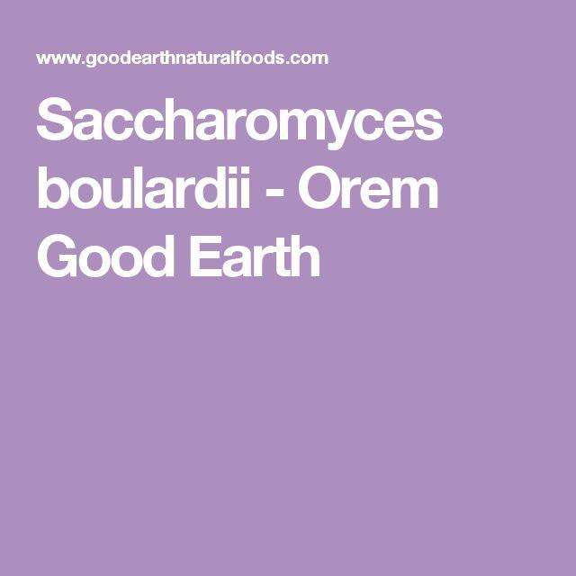 Saccharomyces boulardii - Orem Good Earth