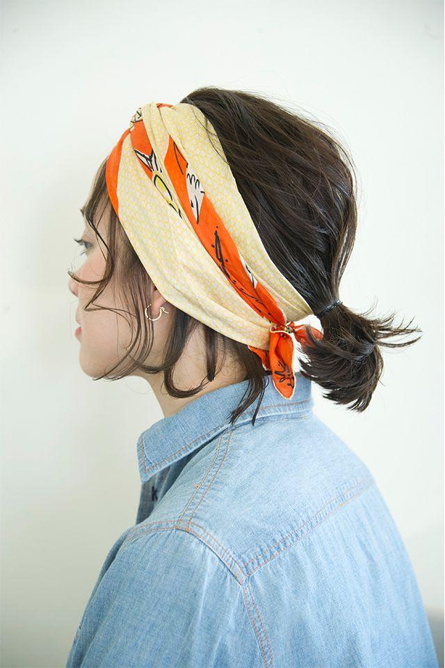 【Prahaアレンジ2】ファッションもアップデートするスカーフを使ったアレンジ