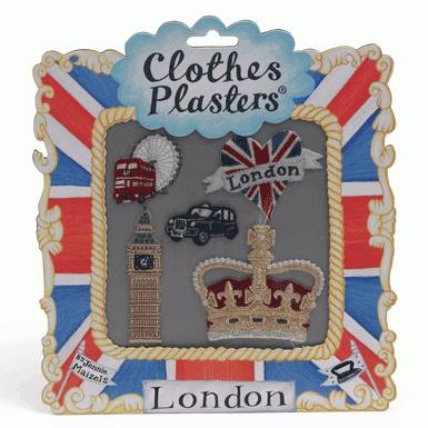 'London' Clothes Plasters
