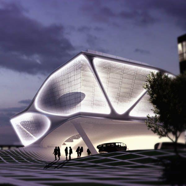 Daegu Gosan Library by SDA | Synthesis Design + Architecture in Korea