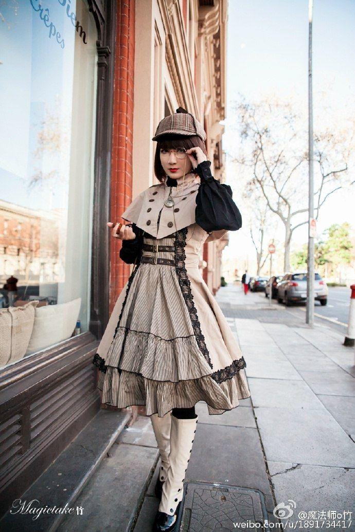 Idea: steampunk Sherlock Holmes