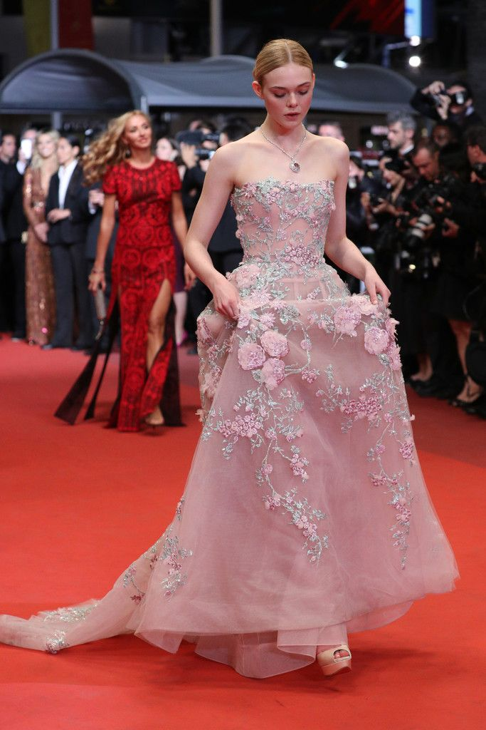 Elle Fanning Photos - 'The Neon Demon'- Red Carpet Arrivals - The 69th Annual Cannes Film Festival - Zimbio
