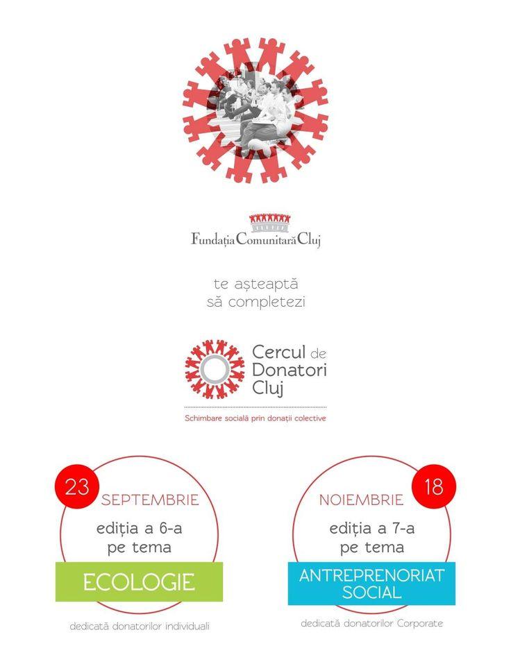 """Căutăm proiecte pentru a șasea ediție a Cercului de Donatori Cluj, pe tema """"Natura din oraş"""". Detalii în anunț: http://fundatiacomunitaracluj.ro/detalii5.php?iddetalii=227"""