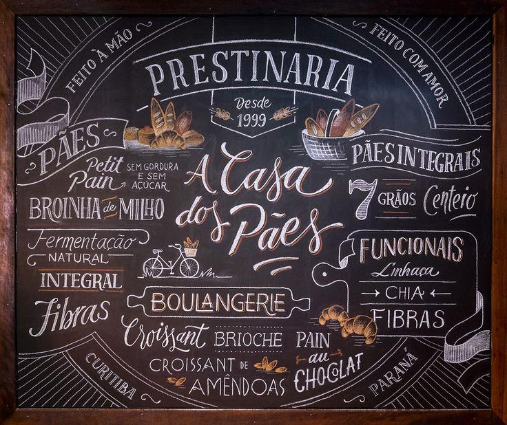 Prestinaria Chalkboards on Behance