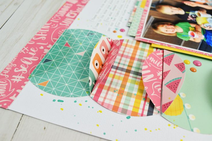 How to use a GIANT Circle Punch - Stamp & Scrapbook EXPO