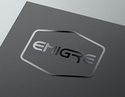 """Check out new work on my @Behance portfolio: """"EMIGRE / music band"""" http://on.be.net/1wiWTos"""