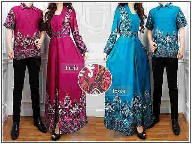 Couple batik mulan || hrg 140rb || bhn katun rayon || fit L