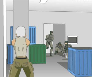Capture all your attacker before they shoot you! http://funnkidsgames.com/nobuyuki-forces-3/