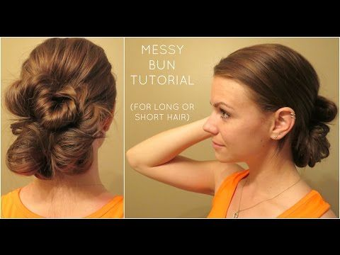 tutorial hair styles 17 best images about hair bun tutorials and 7835