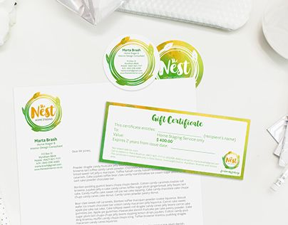 "Check out new work on my @Behance portfolio: ""The Nest Branding"" http://be.net/gallery/34347631/The-Nest-Branding"