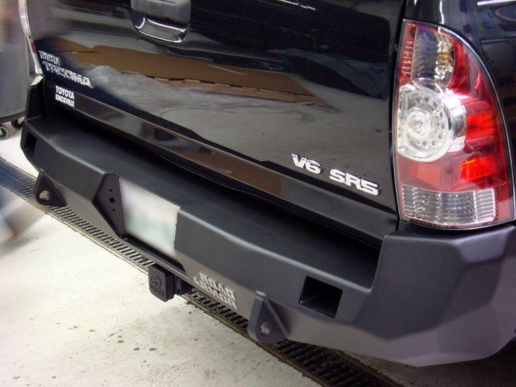 Road Armor Rear Bumper: 2012 Toyota Tacoma 4x4