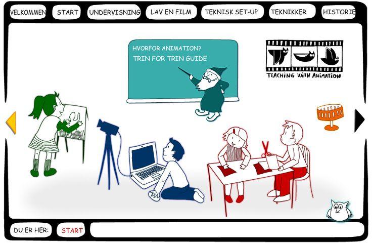 Skolestuen: Animwork - en dansk guide til at lave animationsfilm i undervisningen