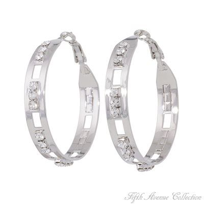 Rhodium Earring - Champagne Nights - Australia - Fifth Avenue Collection - Jewellery that changes the way you see fashion
