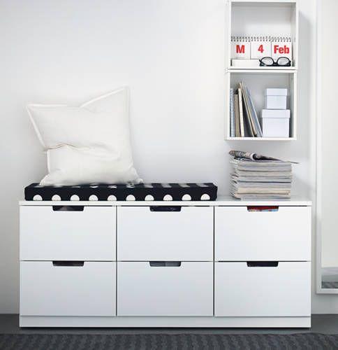 Opbergruimte & zitplek in 1 // #IKEAcatalogus
