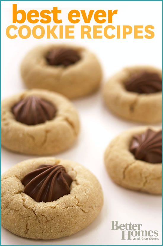 From classic chocolate chip to graham cracker bars get all of your favorite cookie recipes here for Better homes and gardens chocolate chip cookies