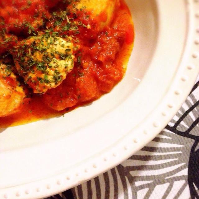 しっかり辛くして。 - 6件のもぐもぐ - 鶏肉トマト煮 by Romako