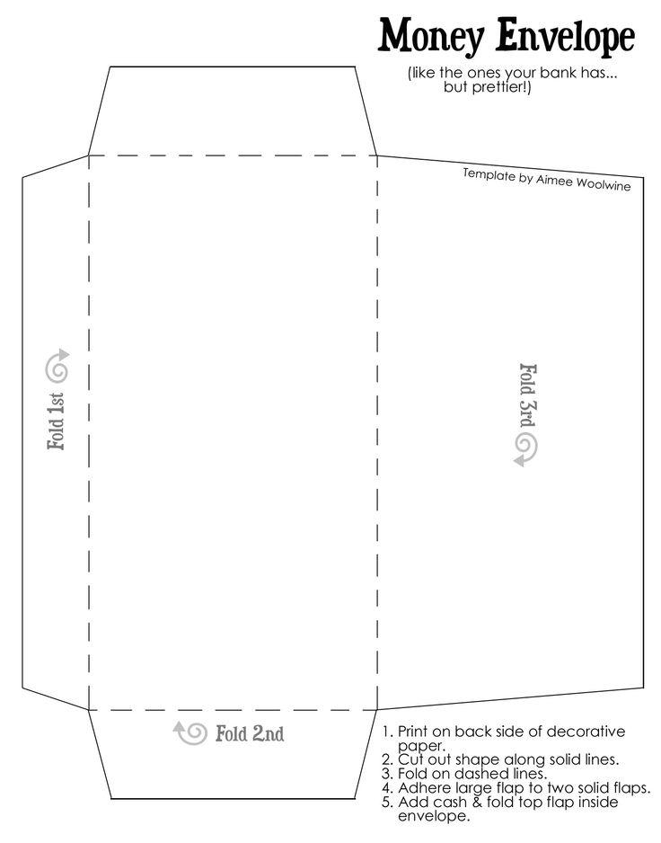 25+ unique Money envelopes ideas on Pinterest Cash envelope - sample money envelope template