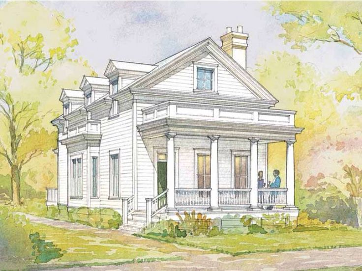 Pin by kit perkins on build pinterest for Greek revival home plans