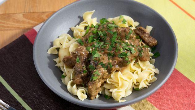 Beef Stroganoff | Recipe | goodies | Beef stroganoff, Food