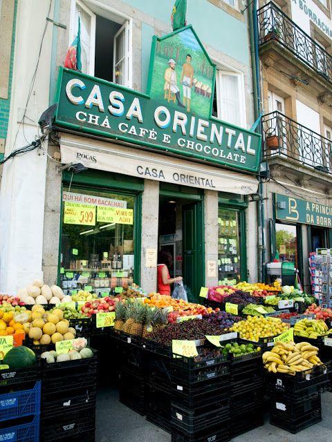 Casa Oriental typical old district #Porto #Portugal