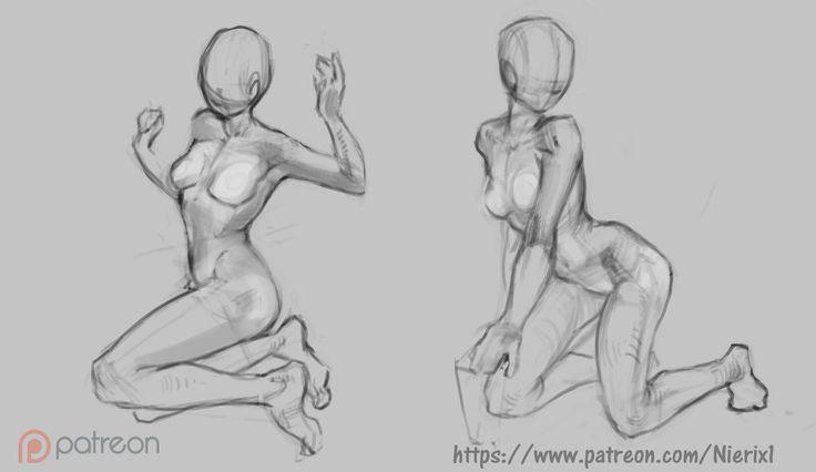 Anatomy sketch ^_^ other on my patreon! by Nieris on DeviantArt
