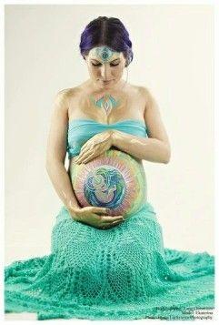 Ciążowy bodypainting http://feszyn.com/ciazowy-bodypainting-malowanie-brzucha-w-ciazy/ #ciąża #bodypainting #macierzyństwo #Pregnant #dziecko