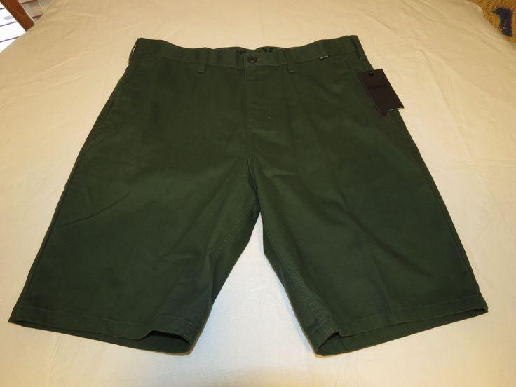 Men's Hurley 34 walk casual shorts O&O Chino short surf skate MWS0001970 green #Hurley #shorts