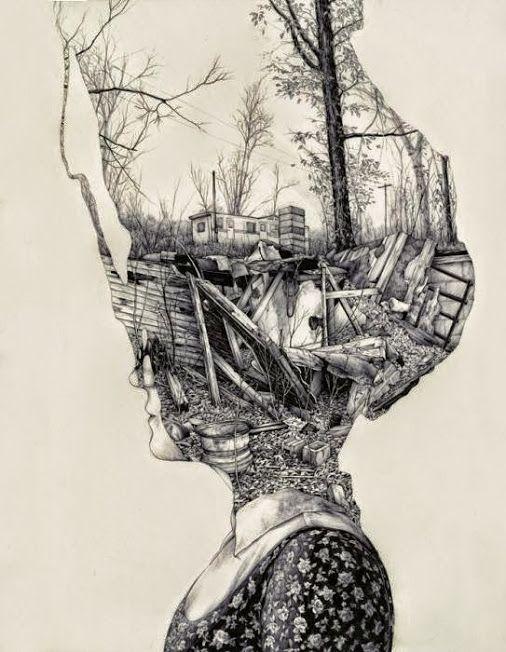 Linda Hanley - Google+ - In my silence... [ art: P.Perry ] Silence-mental…