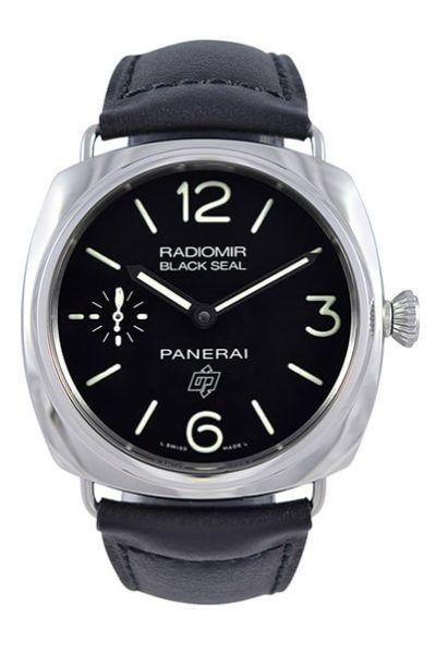 New Panerai Radiomir Black SEAL Logo ACCIAIO Men's Luxury Watch www.majordor.com