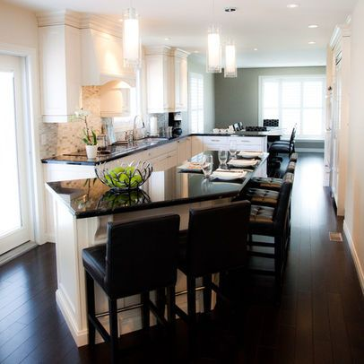 best 25+ long narrow kitchen ideas on pinterest | small island