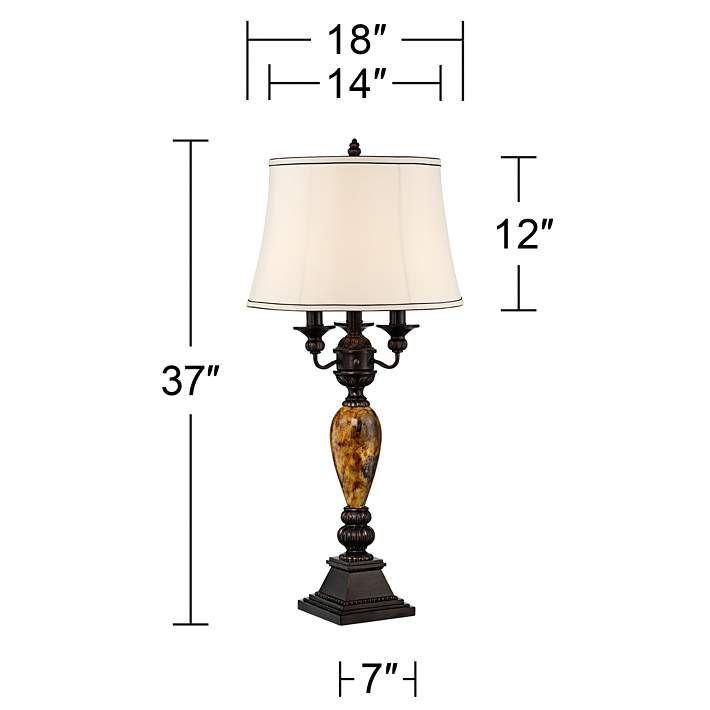 Kathy Ireland Mulholland 6 Way Traditional Table Lamp 2v148 Lamps Plus With Images Traditional Table Lamps Lamp Table Lamp Design