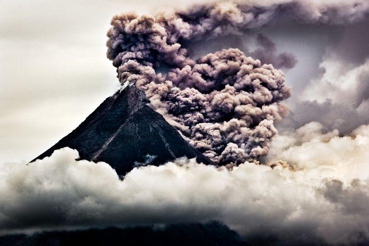 Merapi volcano, Yogyakarta, Indonesia