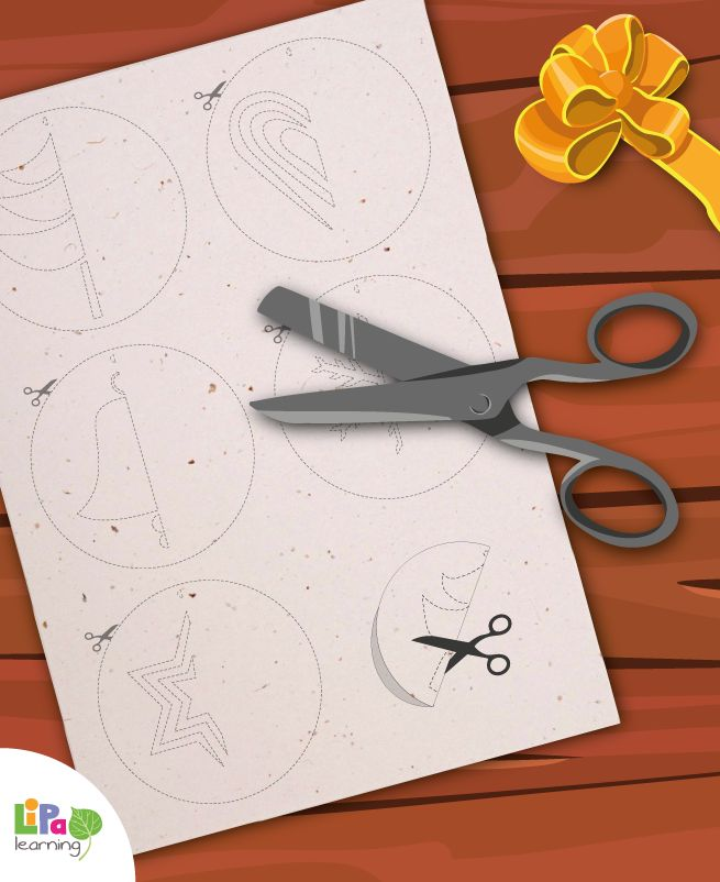 3 days to Christmas! It's time to decorate our Christmas tree. Download these fun ornaments for kids to color, cut, paste and shape their DIY ornaments!
