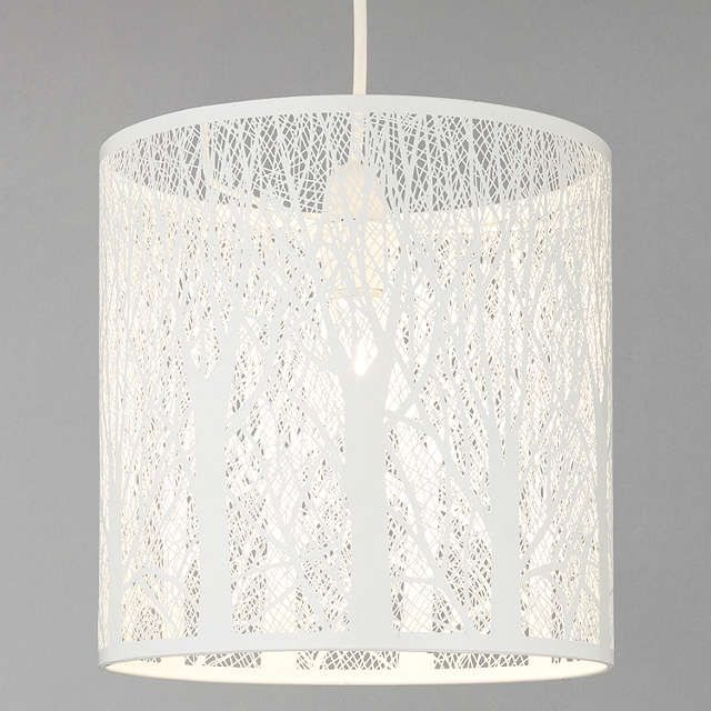 BuyJohn Lewis Devon Easy-to-fit Ceiling Shade, Small, White Online at johnlewis.com
