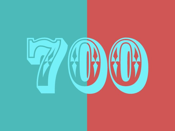 Thanks for 700