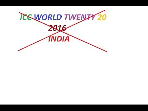 Pakistan should Boycott The ICC World T 20 2016  in India