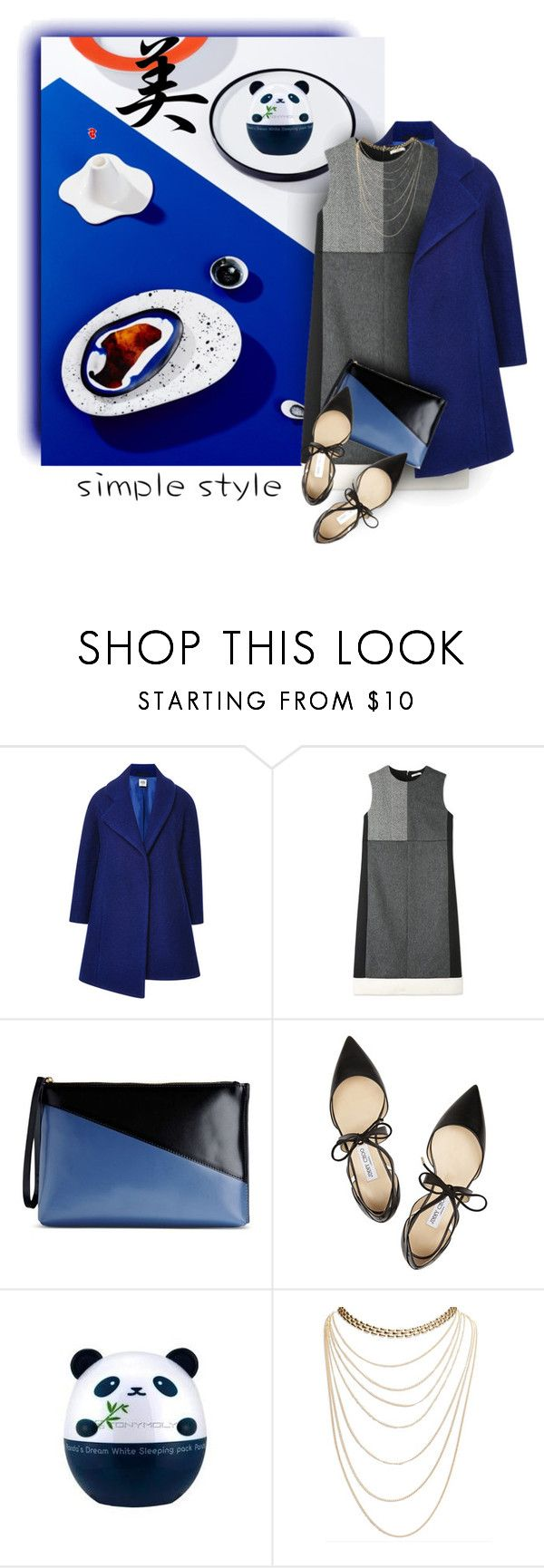 """""""simple style"""" by eilselrenrag ❤ liked on Polyvore featuring Opening Ceremony, Edun, Marni, Jimmy Choo, Tony Moly and Wet Seal"""