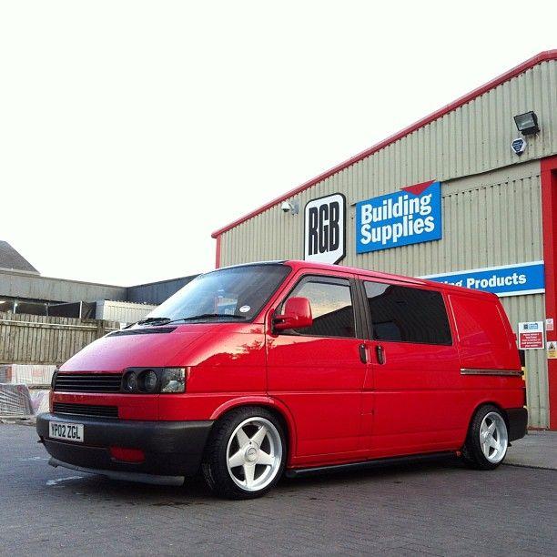 VW T4 Transporter - Via: http://instagram.com/333morgan333