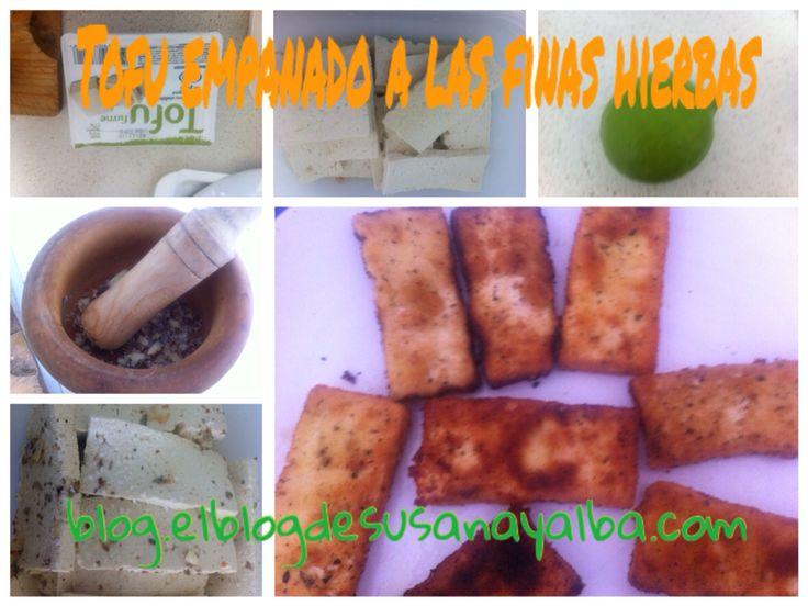 Hoy hemos comido Tofu a las finas hierbas y una deliciosa crema de Calabaza. Mañana te compartimos la receta en el blog.elblogdesusanayalba.com.