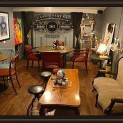 embracebogota | Café con algo de arte, inspiración y muebles para comprar #Bogotá #Arte #CuteCafes
