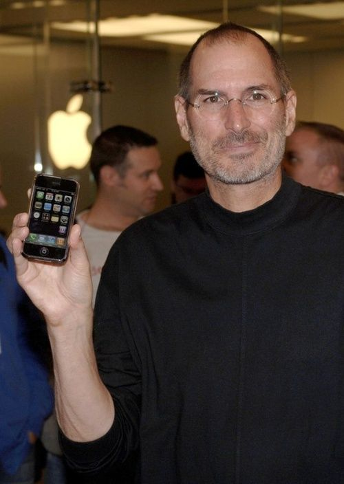 Steve Jobs - Co-founder, chairman, CEO of Apple Inc.