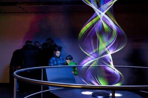 Una torre a LED per capire la rotazione della terra
