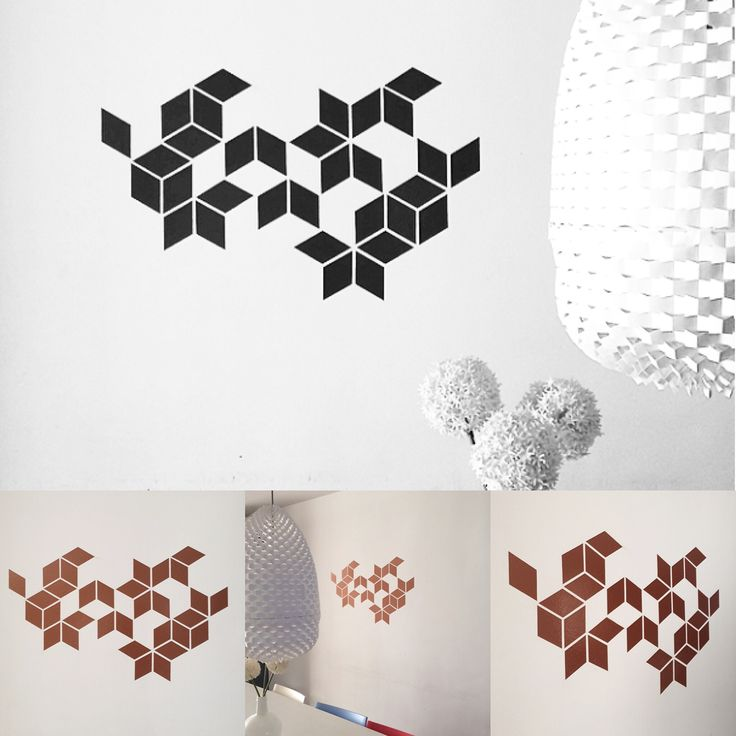 Geometric Wall, Wall Decals