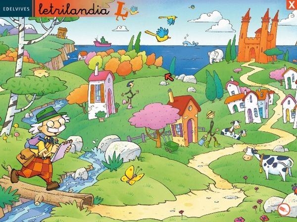 """""""Letrilandia"""" (Disco 2) de Editorial Edelvives, para el Segundo Ciclo de Educación Infantil."""