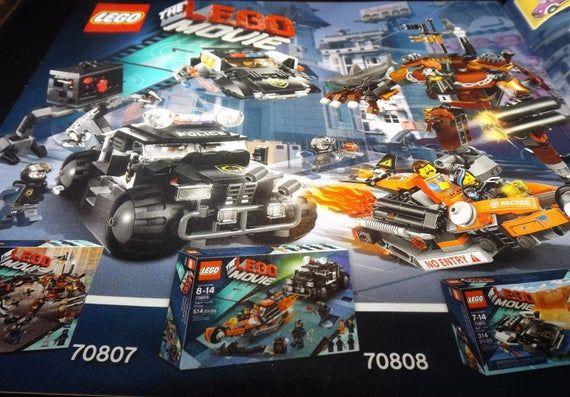 Black Friday Sale Lego The Lego Movie Assembly Booklet 70807 In 2020 Lego Movie Big Lego Lego