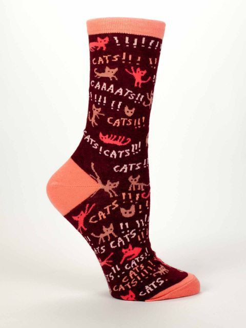 Funny Cool Novelty Gifts Women's Crew Socks by NavyaOnline on Etsy