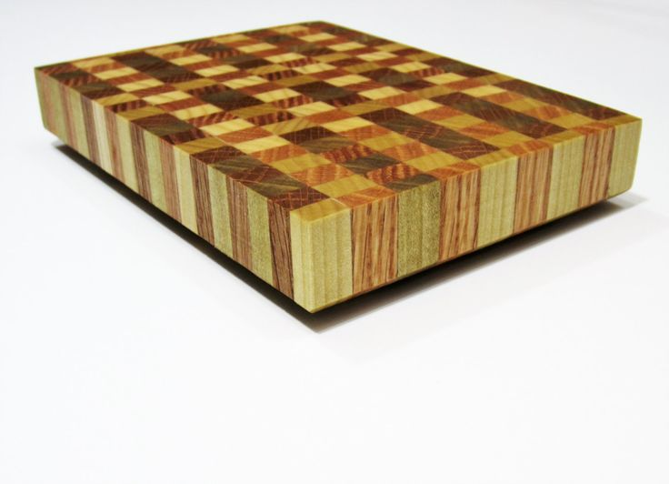 Gift for Foodies, Gifts for Her, Gifts for Chefs, Unique Gift- Butcher Block, End-Grain Cheese Board, MICRO Blocks, Oak & Poplar by Punkabunks on Etsy