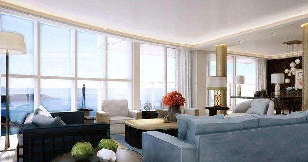 Här är världens dyraste lägenhet vardagsrum (vattenrutschkana ingår i priset) – Sköna hem