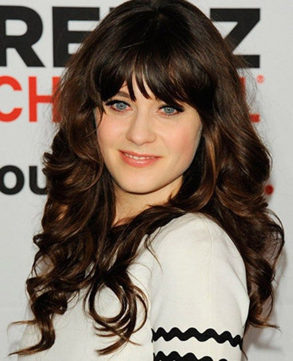 Best 25+ Layered Hairstyles With Bangs Ideas On Pinterest